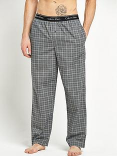 calvin-klein-woven-check-mens-lounge-pants