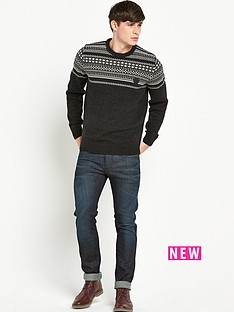 fred-perry-fred-perry-fairisle-mens-jumper