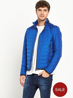 boss-green-quilted-mens-jacket-ndash-blue