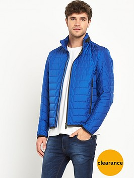 boss-green-quilted-mens-jacket-ndash-blue