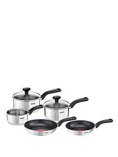tefal-comfort-max-5-piece-pan-set-stainless-steel