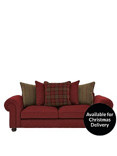 ideal-home-orkney-3-seater-fabric-scatter-back-sofa