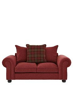 fabric sofas red sofas home garden www very co uk rh very co uk Crimson Red Fabric Sofa Beige Maroon Lined Sofa