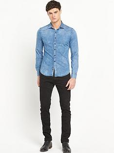 replay-long-sleevenbspdenim-shirt