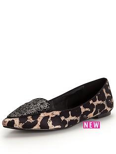 shoe-box-netty-point-glitter-front-leopard-flat-shoe