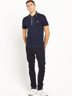lacoste-ribbed-collar-short-sleevenbsppolo-shirt