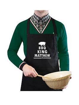 personalised-bbq-king-apron