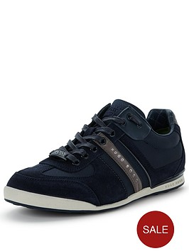 hugo-boss-green-akeen-trainers-blue
