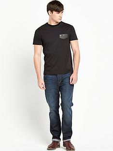 luke-luke-stripe-mesh-pocket-t-shirt