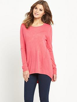 South Soft Touch Curve Hem Tunic