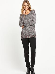 south-zip-back-paisley-print-jumper