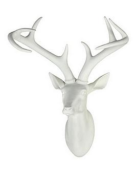 cream-stag-head-wall-plaque