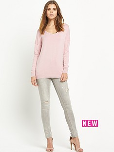 south-exposed-seam-v-neck-jumpernbsp