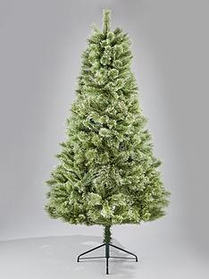 7ft cashmere luxe christmas tree - All Ready Decorated Christmas Trees