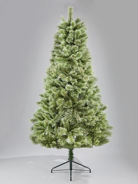 7ft cashmere luxe christmas tree verycouk - Cashmere Christmas Tree