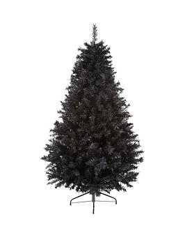 7ft-black-regal-fir-christmas-tree-with-metal-stand