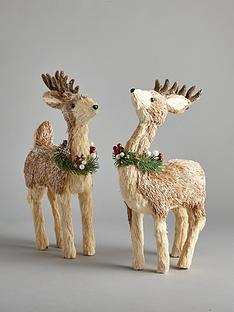 set-of-2-standing-reindeer
