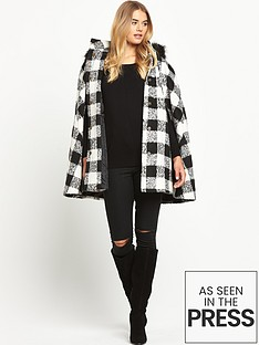 south-checked-cape-coat