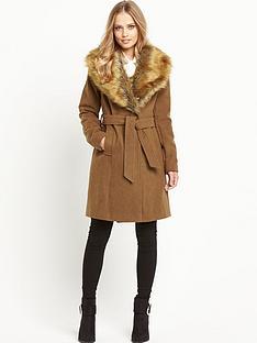 south-oversized-faux-fur-wrap-coatnbsp