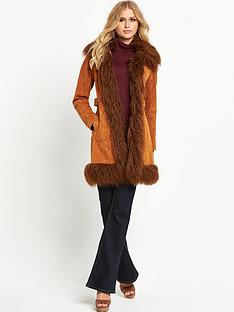 v-by-very-faux-mongolian-trim-suede-coat