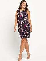2-in-1 Floral Dress