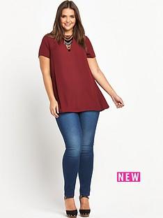 lovedrobe-pleat-side-chiffon-blouse