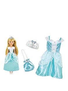 sparkle-girlz-sparkle-girlz-winter-princess-doll-with-matching-girls-costume