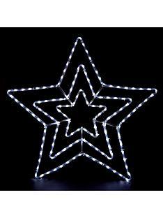 multifunction-white-led-star-outdoor-rope-light