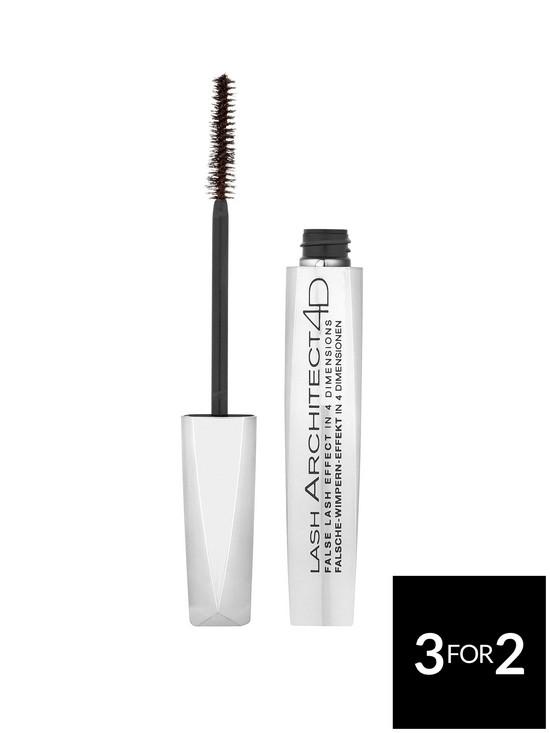 b3dabe14ece L'Oreal Paris Lash Architect 4D Mascara - So Couture Black | very.co.uk