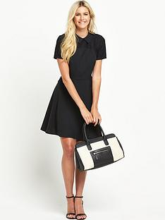 south-tall-lace-yoke-collared-skater-dress