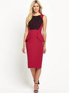 south-tall-lace-peplum-dress