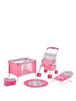 hauck-4-in-1-play-and-care-set-little-flower