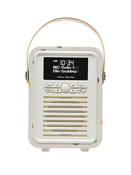 Vq Emma Bridgewater Retro Mini Bluetooth&Reg; Dab+ Radio
