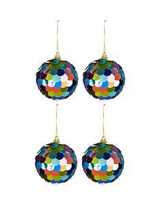 multi-coloured-sequin-christmas-baubles-ndash-set-of-4