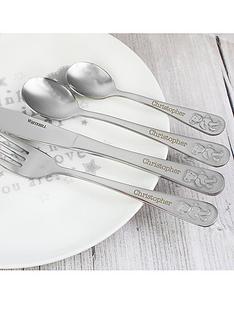 personalised-teddy-cutlery