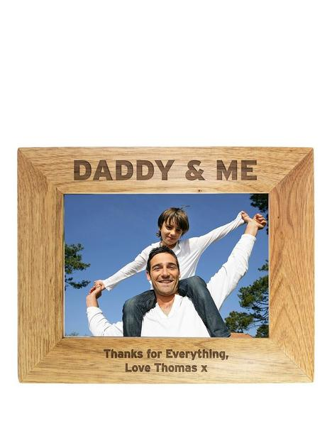 personalised-daddy-me-wooden-photo-frame