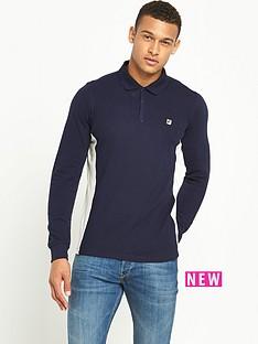 fila-bolleli-long-sleeve-mens-polo-shirt