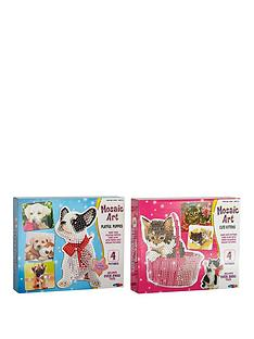 mosaic-art-playful-puppies-amp-cute-kittens-duo-pack