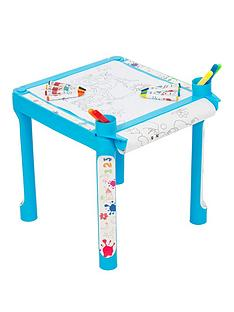 colouring-table-blue