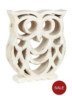 wooden-owl-sculpture