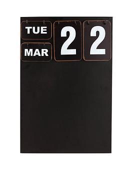 wall-hanging-calendar-and-chalkboard