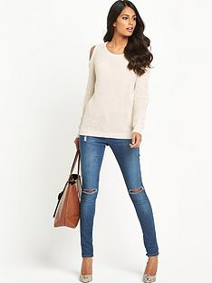 south-cold-shoulder-jumper