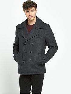 selected-merser-mens-peacoat