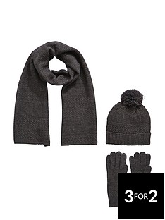 mens-textured-detail-3pc-hat-scarf-and-gloves-set