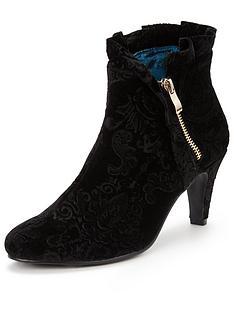 joe-browns-embossed-velvet-ankle-boots