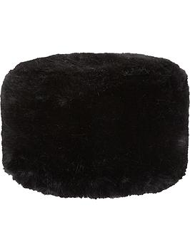 Girls Faux Fur Hat