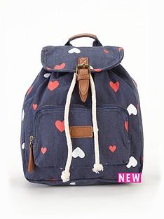 girls-heart-printampnbspbackpack