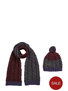 boys-chunky-knit-hat-and-scarf-set-2-piece