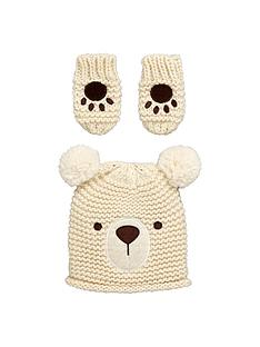baby-knitted-bear-hat-and-mitten-set