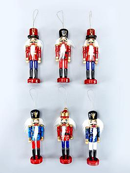 set-of-6-wood-nutcracker-hanging-ornaments